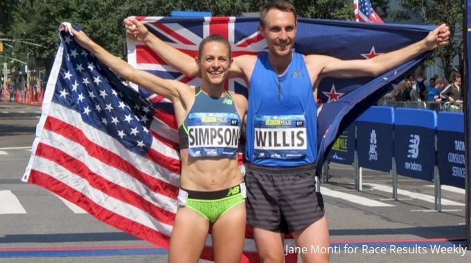 Jenny Simpson, Nick Willis