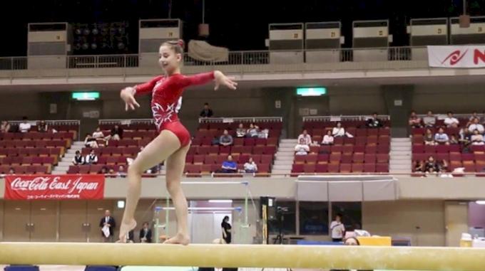 Ana Padurariu - Beam, Canada - Event Finals, 2017 International Junior Japan