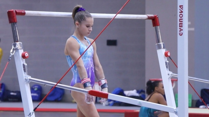 Ragan Smith (USA) Hits Bar Set With Nice Ricna To Pak - Training Day 1, 2017 World Championships