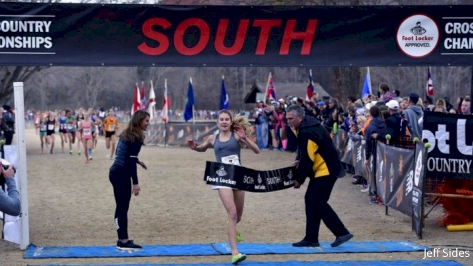Girls Foot Locker South XC Regional - Rebecca Story Dominates
