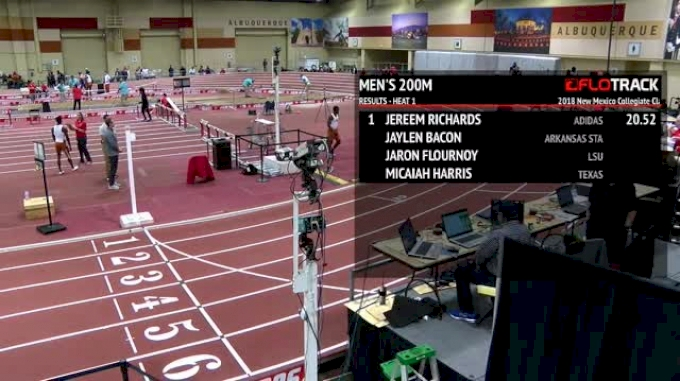 Men's 200m, Heat 1 - Jereem Richards No. 3 Time In The World 20.52!