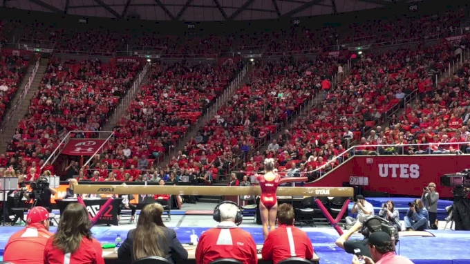 MyKayla Skinner, Utah - Beam - 2018 Utah vs BYU