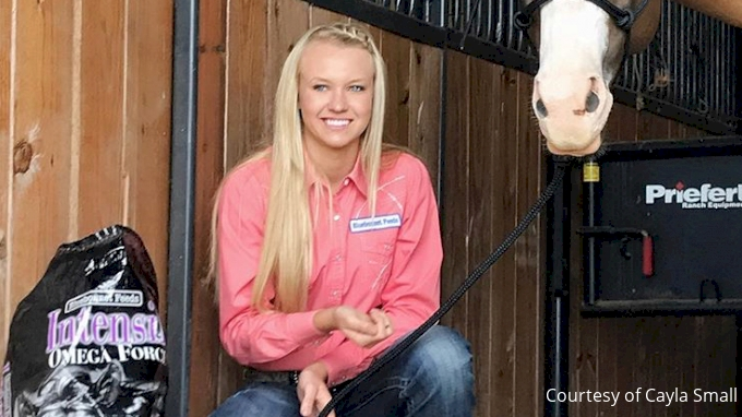 Cayla Small Barrel Racer