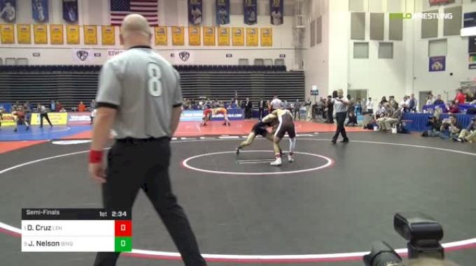 125 lbs Semifinal - Darian Cruz, Lehigh vs Joe Nelson, Binghamton