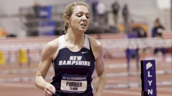 Women's Mile, Heat 1 - Elinor Purrier 4:26.55, NCAA #2 ALL-TIME!