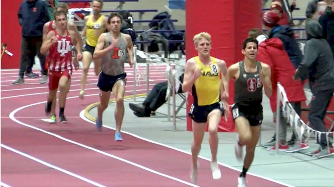 Men's 3k Invite, Heat 1 - Andy Trouard Outkicks Grant Fisher!