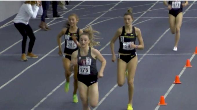 Women's Mile, Heat 4 - Fastest Race In Stanford, Oregon School History