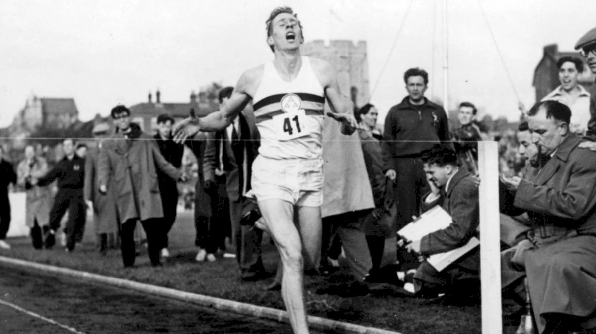Sir Roger Bannister The World S First Sub 4 Minute Miler border=
