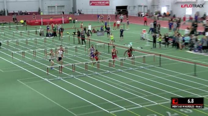 Men's 60m Hurdles, Heat 2
