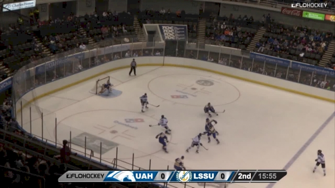 Highlights: Lake Superior State Uses Late Goal To Edge Alabama Huntsville