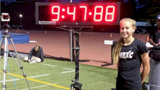 Katelyn Tuohy 9:47 3200m, National High School Record