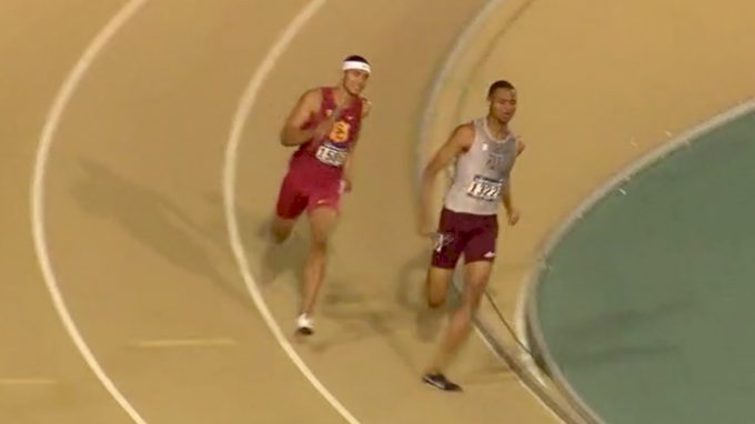Men's 4x400m Relay, Quarterfinal 2 - Texas A&M/USC 3:01