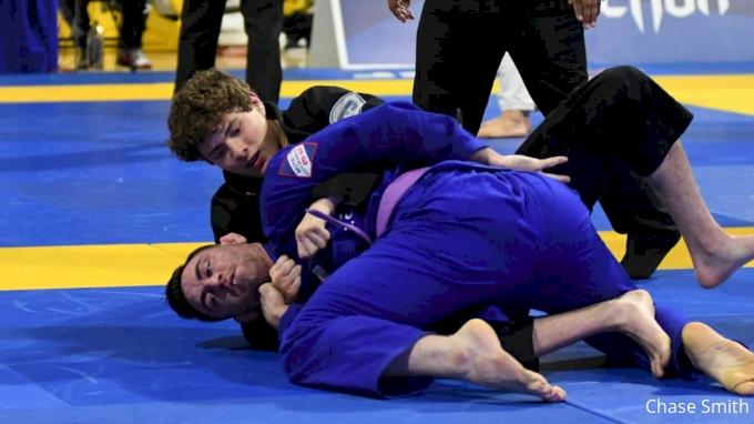 ROBERTO JIMENEZ vs MASON FOWLER 2018 World IBJJF Jiu-Jitsu Championship