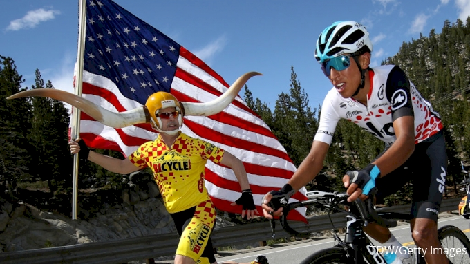 Tour de France riders sprayed wth chemical