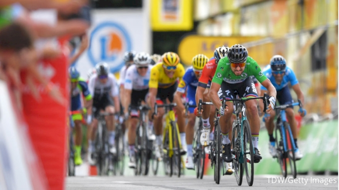Tour de France: Groenewegen beats Gaviria in sprint