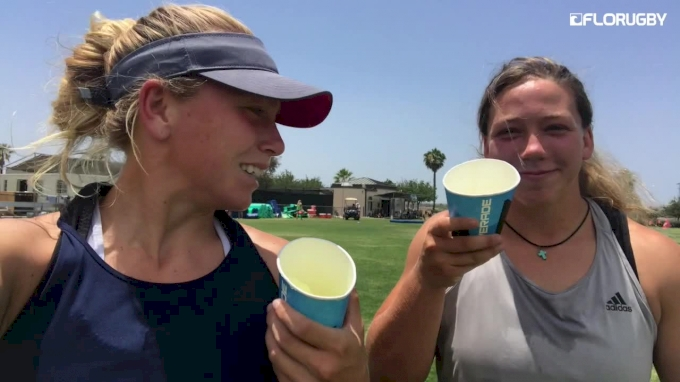 Recovery And Snacks For USA 7s Team