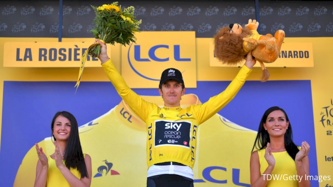 Geraint Thomas made to wait for the yellow jersey