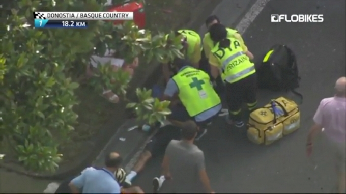 Horrific San Sebastian Crash
