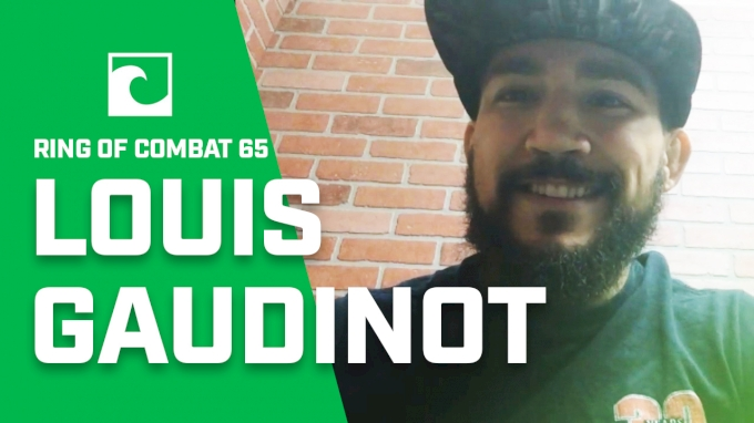 Ring Of Combat 65: Louis Gaudinot Talks Layoff, Comeback, Fighting At 135