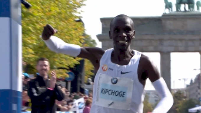 Kenyan Eliud Kipchoge sets world record at Berlin marathon