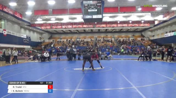 170 lbs Consi of 8 #2 - Rebekah Trudel, Simon Fraser University vs Korinahe Bullock, McKendree University