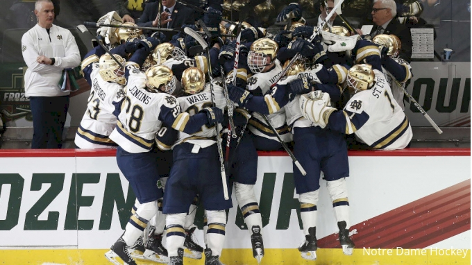 BIG10: Burke Brothers Hope To Bring A Title To Notre Dame Hockey