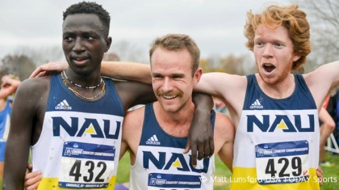 On The Run: NAU's Tyler Day, Matt Baxter and Peter Lomong