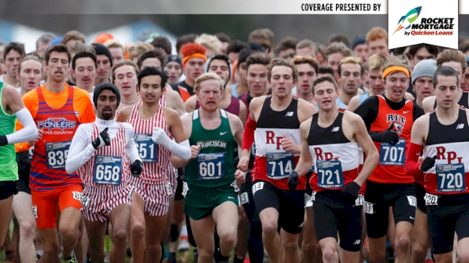 Race Replay: 2018 DIII NCAA XC Championship Men's 8k