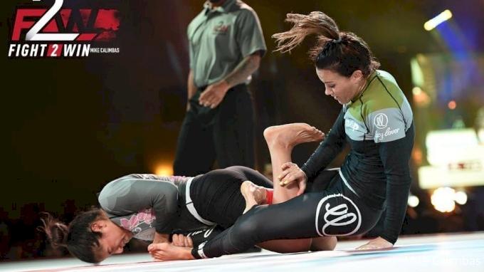 Amanda Alequin vs Jena Bishop Fight 2 Win 95