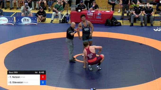 125 kg Final - Tony Nelson, Minnesota Storm vs Gable Steveson, Minnesota Storm