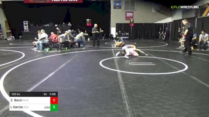 106 lbs Round Of 32 - Zein Bazzi, Snugglepuff vs Ivan Garcia, Apex
