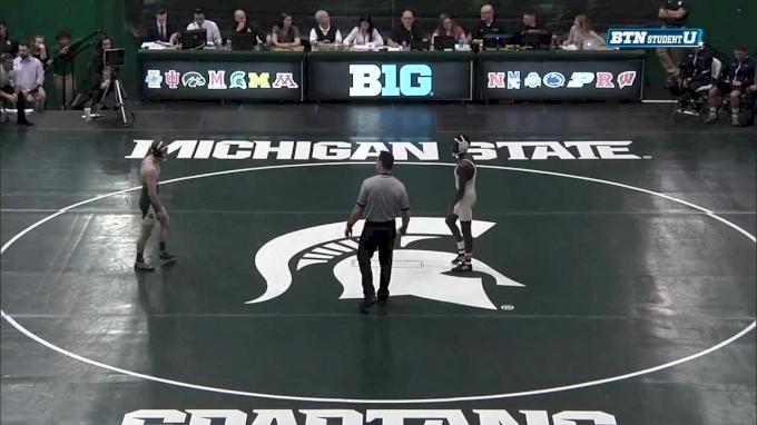 133lbs Logan Griffin Michigan State vs Roshaun Cooley Clarion.mp4