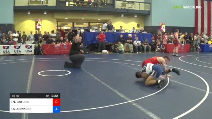 65 Final - Nick Lee, Nittany Lion WC vs Andrew Alirez, Northern Colorado WC