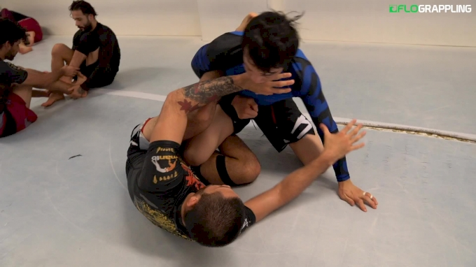 10 Mins of Paulo Miyao Rolling No-Gi at Unity Jiu-Jitsu