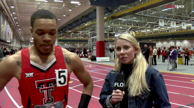 Andrew Hudson predicts Texas Tech win after 60m victory