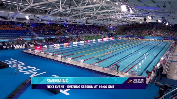 2018 European Swimming Championship Finals, Day 1