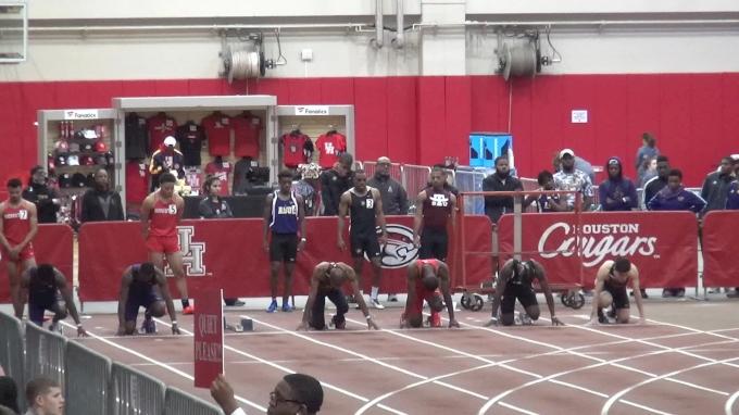 Men's 60m, Heat 2
