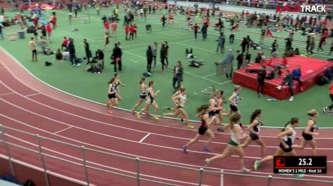 Women's Mile, Heat 16