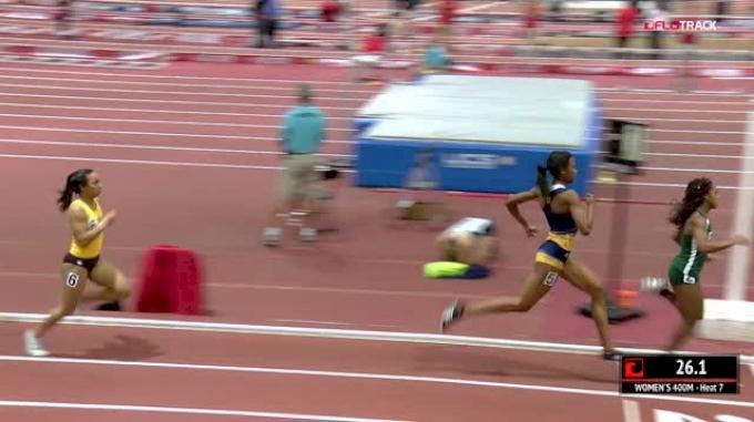 Women's 400m, Heat 7
