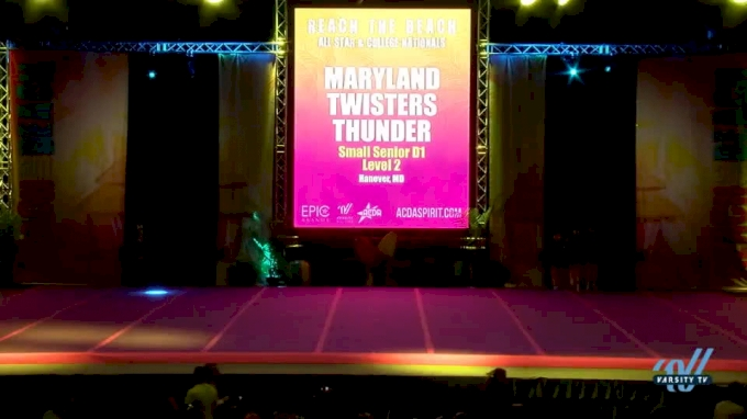 Maryland Twisters - Thunder [2018 Senior--Small--D1 Day 2]