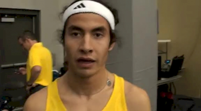 Diego Estrada 7.44 3k at the 2012 Flotrack Husky Classic