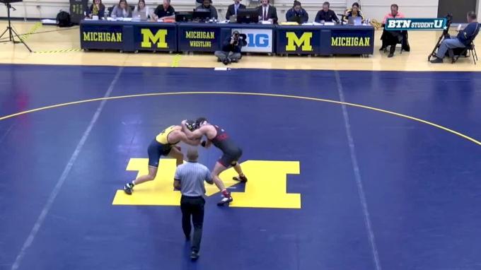 197 m, Kevin Beazley, Michigan vs Eric Schultz, Nebraska