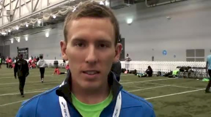 Ryan Vail looks to track after a successful marathon debut