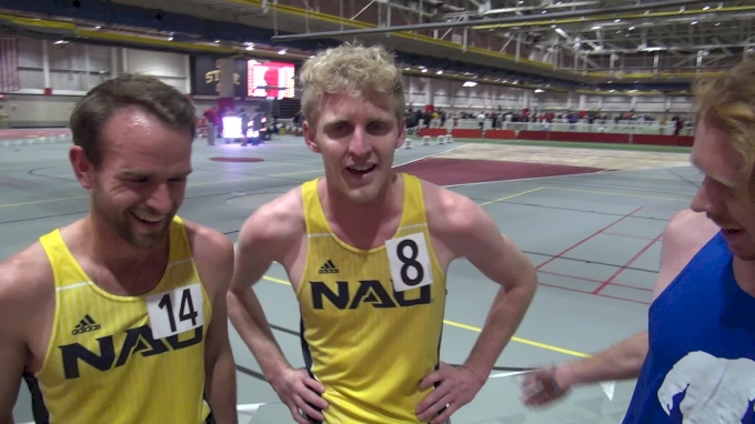 NAU Trio React To Cheserek's 3:49 Mile