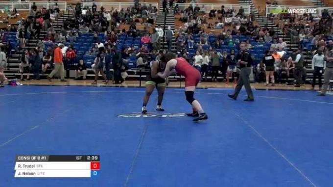 170 lbs Consi of 8 #1 - Rebekah Trudel, Simon Fraser University vs Jordan Nelson, Life University W