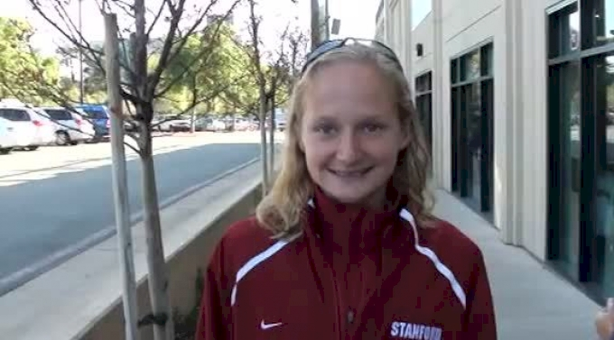 Kathy Kroeger talks about running healthy and moving up in the NCAA ranks