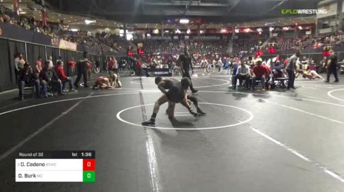 113 lbs Round Of 32 - Dylan Cedeno, Bitetto Trained Wrestling vs Derek Burk, Mifflin County