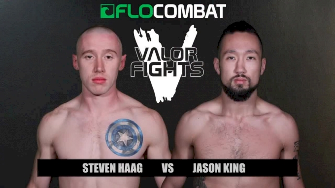Steven Haag vs. Jason King - Valor 47