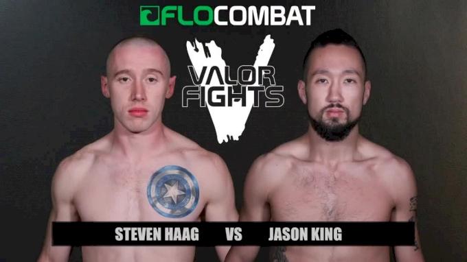 Steven Haag vs. Jason King - Valor Fights 47