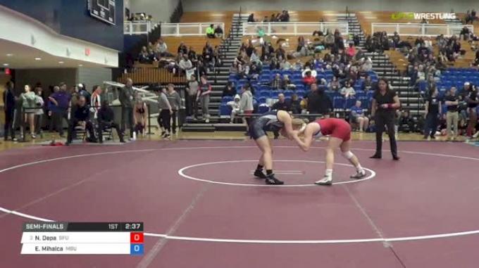 130 lbs Semifinal - Nicole Depa, Simon Fraser University vs Erika Mihalca, Missouri Baptist University